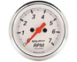 Automeyer Arctic White 2 1/16 Tachometer 7000 Rpn