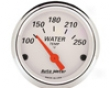 Autometer Arctic White 2 1/16 Water Temperature Gauge