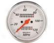 Autometer Arctic White 3 1/8 Mechanical Speedometer