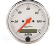 Autometer Arctic White 3 1/8 Peogrammable Speedometer