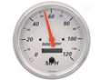 Autometer Arctic White 5&#334 Programmable Speedometer