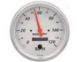 Autometer Arctic White 5&#334 Programmable Speedometer