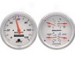 Autometer Arctic White In-dasy 5&#34 Electrical Gauge Kit