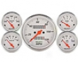 Autometer Arctic White In-dash Mechanical Gauge Kit
