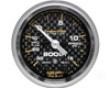 Autometer Carbon Fiber 2 1/16 Boost 15 Psi/vacuum Gauge
