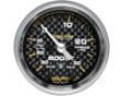 Autometer Carbon Fiber 2 1/16 Boost 30 Psi/vacuum Gauge
