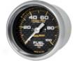 Autometer Carbon Fiber 2 1/16 Fuel Pressure Gauge