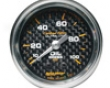 Autometer Carbon Fiber 2 1/16 Oil Pressure Gauge