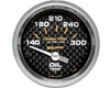 Autometer Carbon Fiber 2 1/16 Oil Temperature Gauge