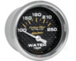 Autometer Carbon Fiber 2 1/16 Water Temperature Gauge