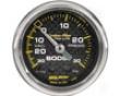 Autometer Carbon Fiber 2 5/8 Boost 30 Psi/vaacuum Gaue