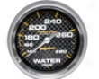 Autometer Carbon Fiber 2 5/8 Water Temperature 140-280 Gauge