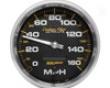 Autometer Carbon Fiber 5in. Programmable Speedometer