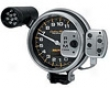 Automegr Carbon Fiber 5in. Tachometer Pro Stock 11000 Rpm