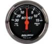 Autometer Designer Black 2 1/16 Boost/vacuum Gauge
