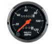 Autometer Dessigner Black 3 1/8 Mechanical Speedometer