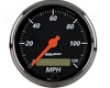 Autometer Designr5 Black 3 1/8 Programmable Speedometer
