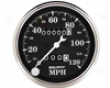 Autometer Old Tyme Black 3 1/8 Mechanical Speedometer