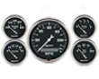 Autometer Old Tyme Black In-cash Electric Gauge Kit