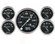 Autometer Old Tyme Black In-dash Mechanical Gauge Kit