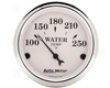 Autometer Old Tyme White 2 1/16 Water Temperature Gauge