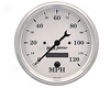 Autometer Old Tyme White 5&#34 Programmable Speedometer