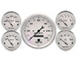 Autometer Old Tyme White In-dash Electric Gauge Kit