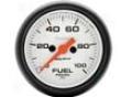 Autometer Phantom 2 1/16 Fuel Pressure 0-100 Gauge