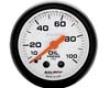 Autometer Phantom 2 1/16 Oil Pressure 0-100 Measure
