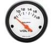 Autometer Phantom 2 1/16 Voltmeter Gauge