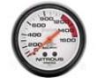 Autometer Phaantom 2 5/8 Nitrous Influence Gauge