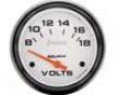 Autometer Spectre 2 5/8 Voltmeter Gauge