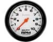 Autometer Phantom 3 3/8 Tachometer Single Range 10000 Rpm