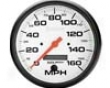 Autometer Phantom 5in. Programmable Speedometer 160 Mph