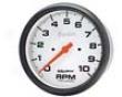 Autometer Phantom 5in. Tachometer Single Range 10000 Rpm