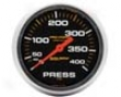 Autometer Pro-comp 2 5/8 Pressure 0-400 Gauge