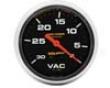 Autometer Po-comp 2 5/8 Vacuum Gauge