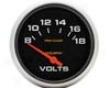 Autometer Pro-comp 2 5/88 Voltm3ter Gauge