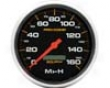 Autometer Pro-comp 5in .Programmable Speedometer 160 Mph