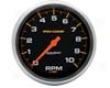 Autometer Pro-comp 5in. Tachometer 10000 Rpm