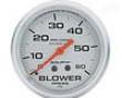 Autometer Silver 2 5/8 Blower Pressure Gauge