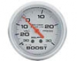 Autometer Silver 2 5/8 Boost/vacuum Gauge