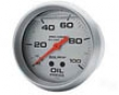 Autometer Gentle 2 5/8 Oil Pressure 0-100 Gauge