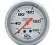 Autpmeter Silver 2 5/8 Oil Pressure 0-200 Gauge