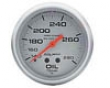 Autometer Silver 2 5/8 Oil Temperature Gauge