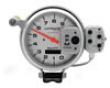 Autometer Silver 5in. Tachometer Ultimate/playback 9000 Rpm