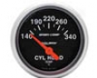 Autometer Sport-comp 2 1/16 Cylinder Head Temperature Gauge