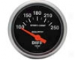 Autometer Sport-comp 2 1/16 Differential Temperature Gauge