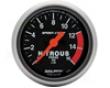 Autometer Sport-comp 2 1/16 Nitrous Pressure Gauge