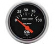 Autometer Sport-comp 2 1/16 Oil Impression Gauge